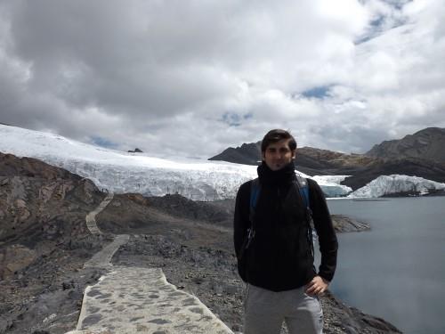 Llegando al Glaciar