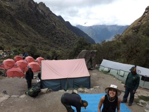 Por fin el Camping de Paqaymayu