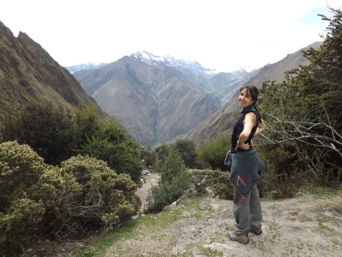Vistas desde Llulluchapampa