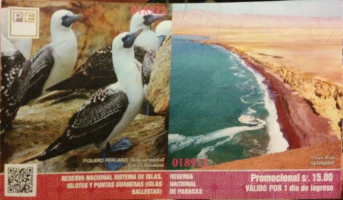 Ticket Islas Ballestas