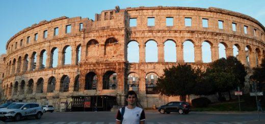 El Anfiteatro de Pula, Arena