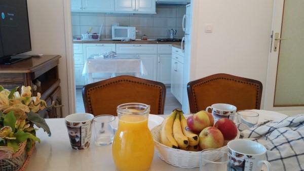 El desayuno está listo
