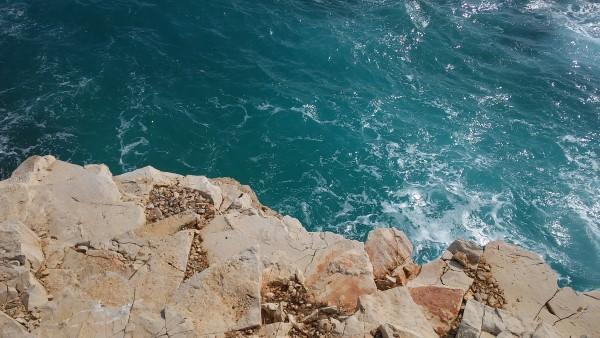 Agua cristalina, como en toda la costa que visitamos