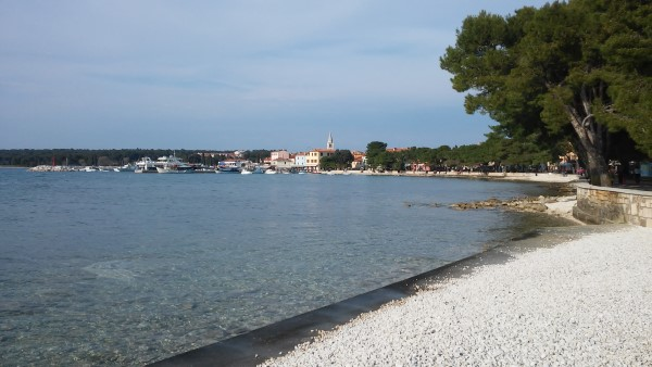 Vistas de Fazana desde la playa