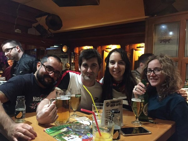 En el rock café de Pula