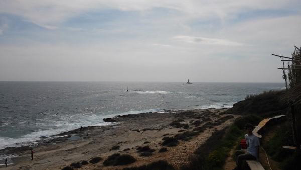 Vistas de la costa desde el Safari bar