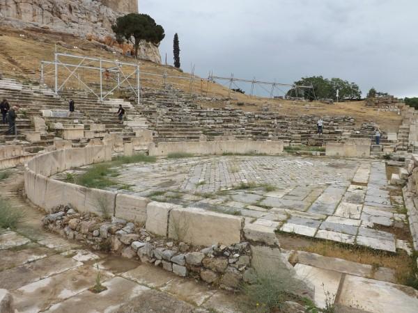 El teatro a ras de suelo