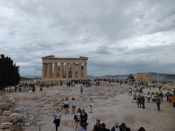 El Partenón y Erecteón