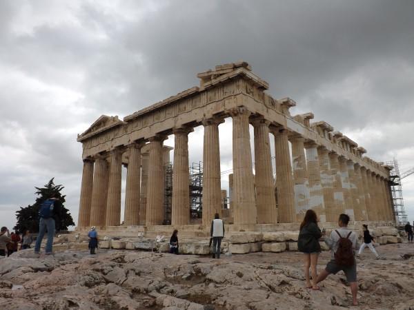 Otra perspectiva de El Partenón
