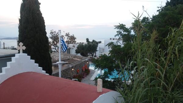 Vistas desde nuestra habitación del hotel