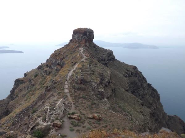 Roca Scaros, enfrente de Imerovigli