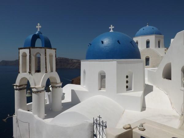 Iglesias en Oia