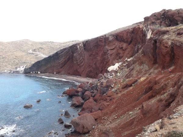 Llegamos a la playa Roja