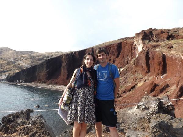Nosotros en la Playa Roja